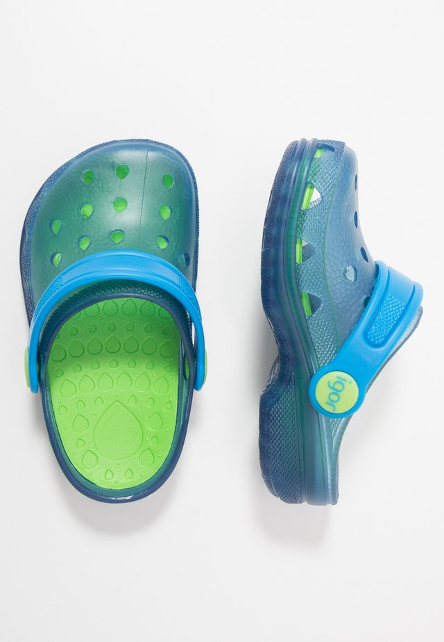 POPPY - Pool slides - azul/turquesa