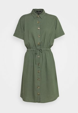 DRESS - Shirt dress - thyme