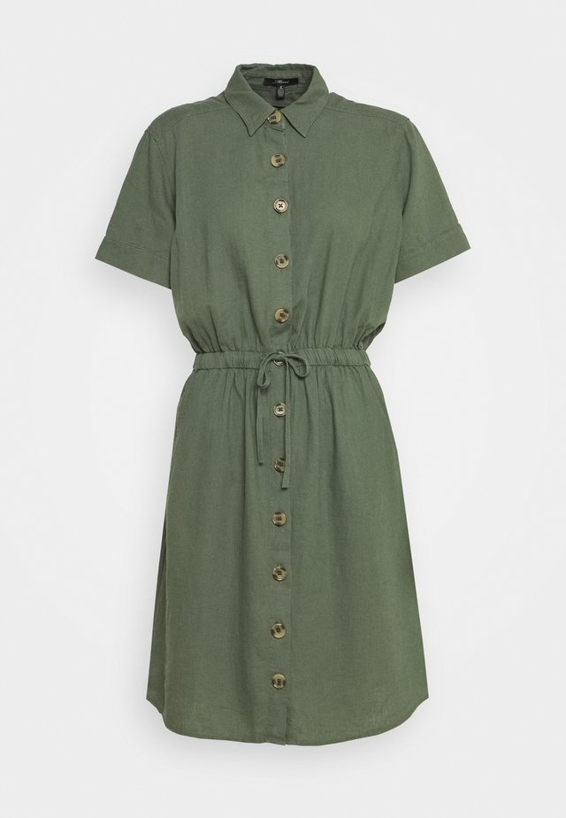 DRESS - Skjortekjole - thyme