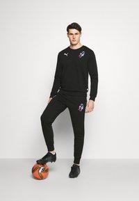 Puma - NEYMAR CREATIVITY CREW - Sweatshirt - black - 1