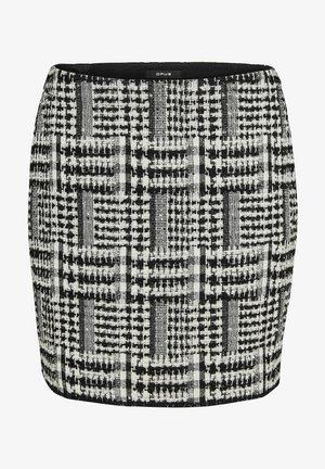 RAVENNA RETRO TWIST - Pencil skirt - schwarz