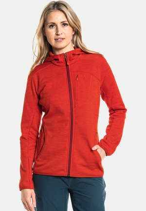 BELFORT1 - Fleece jacket -  rot