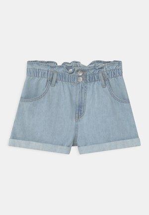 JONNA - Denim shorts - blue denim