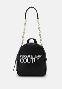 Versace Jeans Couture - SMALL BACKPACK LOGO - Rucksack - nero - 0
