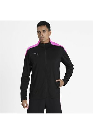 FTBLNXT TRACK JACKET - Training jacket - black-luminous pink
