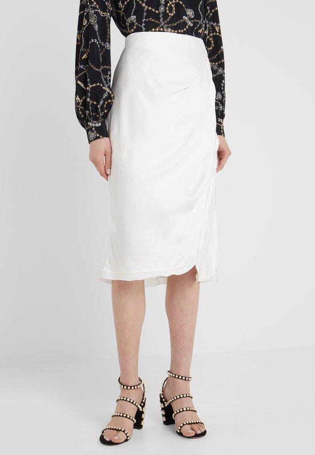 JUMP GONNA - A-line skirt - white