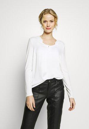 LONGSLEEVE - Blouse - white