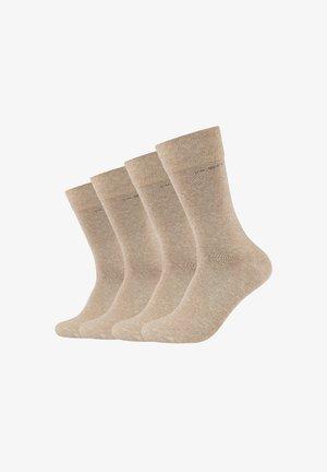 4 PACK - Socks - creme