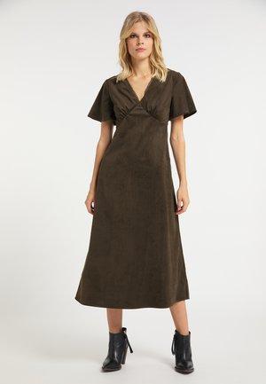 Denní šaty - oliv