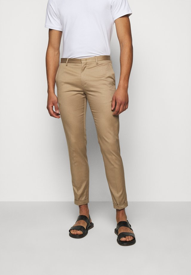 GENTS TROUSER - Chino kalhoty - beige