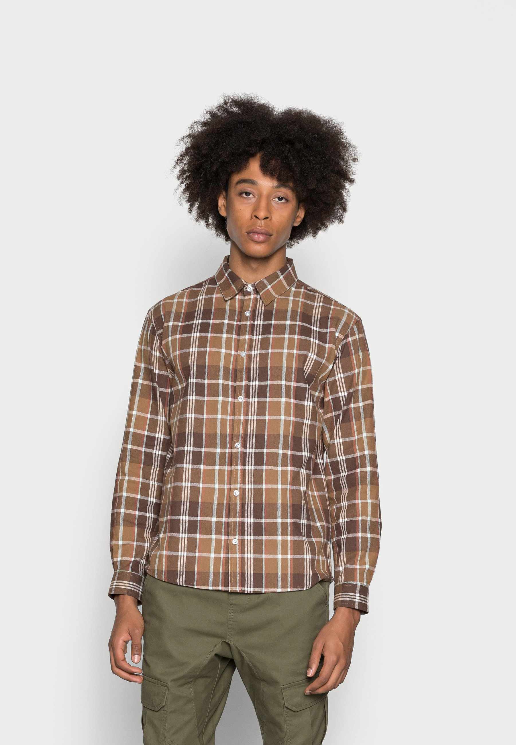 Homme FLANNEL CHECK OVER - Chemise