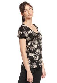 Vive Maria - Print T-shirt - schwarz allover - 2
