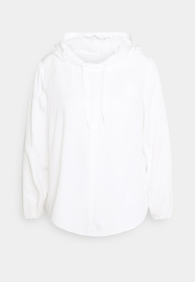BLOUSE HOODED - Sweat à capuche - scandinavian white