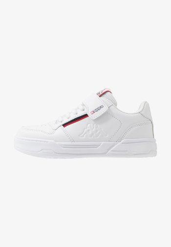 MARABU II - Sports shoes - white/red