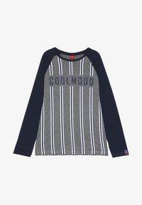 s.Oliver - Long sleeved top - dark grey melange - 3