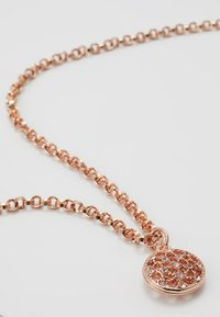 SNÖ of Sweden - MONROE SMALL ROUND PENDANT - Necklace - roségold-coloured - 3