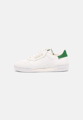 CONTINENTAL 80 UNISEX - Zapatillas - white/off white/green