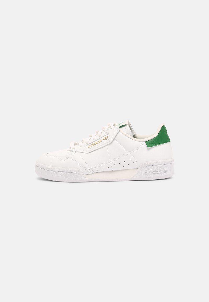adidas Originals - CONTINENTAL 80 UNISEX - Sneakers - white/off white/green