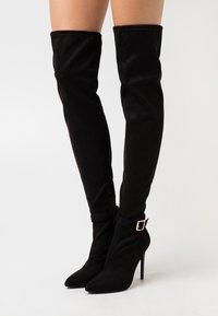 Even&Odd - Boots med høye hæler - black - 0