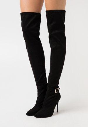 Botas de tacón - black