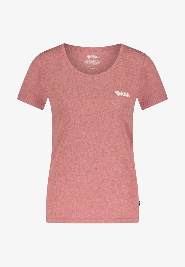 FJÄLLRÄVEN LOGO - Print T-shirt - rost