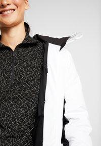 Kjus - WOMEN DUANA JACKET - Ski jacket - white/black - 3