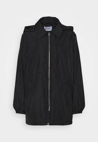 Weekday - BYRON COACH JACKET - Short coat - black - 6