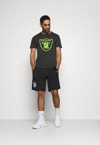 Fanatics - NFL LAS VEGAS RAIDERS NEON POP CORE GRAPHIC  - Club wear - black - 1