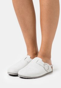 Simply Be - WIDE FIT TEDDY - Pantoffels - grey - 0