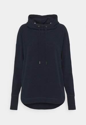 ESCAPE LUXE HOODY - Jersey con capucha - navy blue