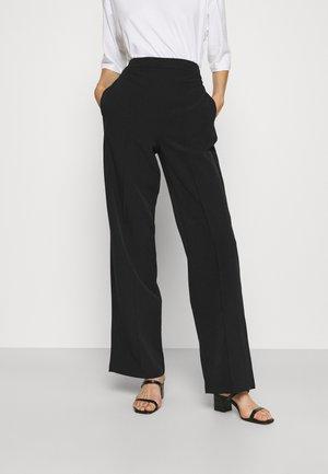 PCBOSSY PANTS - Trousers - black