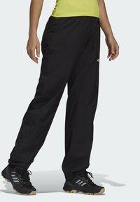 adidas Performance - W MT RAIN PANT - Bukse - black - 3