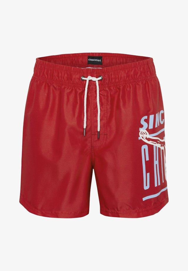Swimming shorts - poinsettia