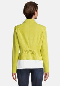 Betty Barclay - Faux leather jacket - yellow - 2