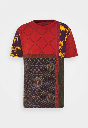BLOCK - Print T-shirt - red