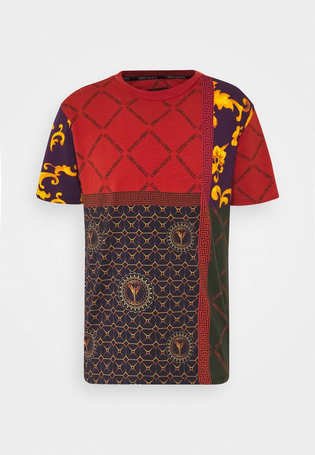 BLOCK - Print T-shirt - red