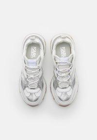 KARL LAGERFELD - BLAZE STRIKE LACE  - Sneakers laag - white/silver - 4
