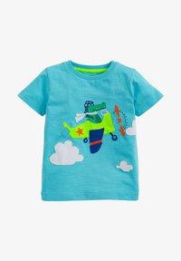 Next - T-shirt print - blue - 0