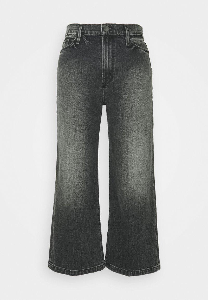 Frame Denim - ALI WIDE CROP - Jean flare - silverwood