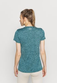 Under Armour - TECH TWIST - T-shirt sportiva - dark cyan - 2