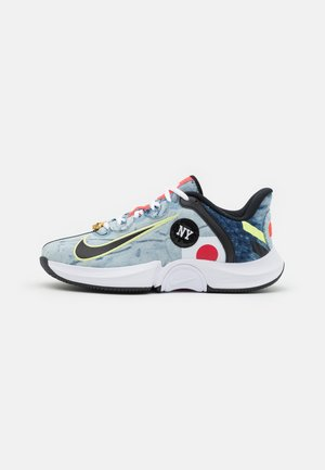 AIR ZOOM GP TURBO OSAKA - Chaussures de tennis toutes surfaces - white/black/bright crimson