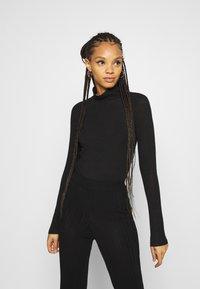 YAS - YASWOOLA - Long sleeved top - black - 0