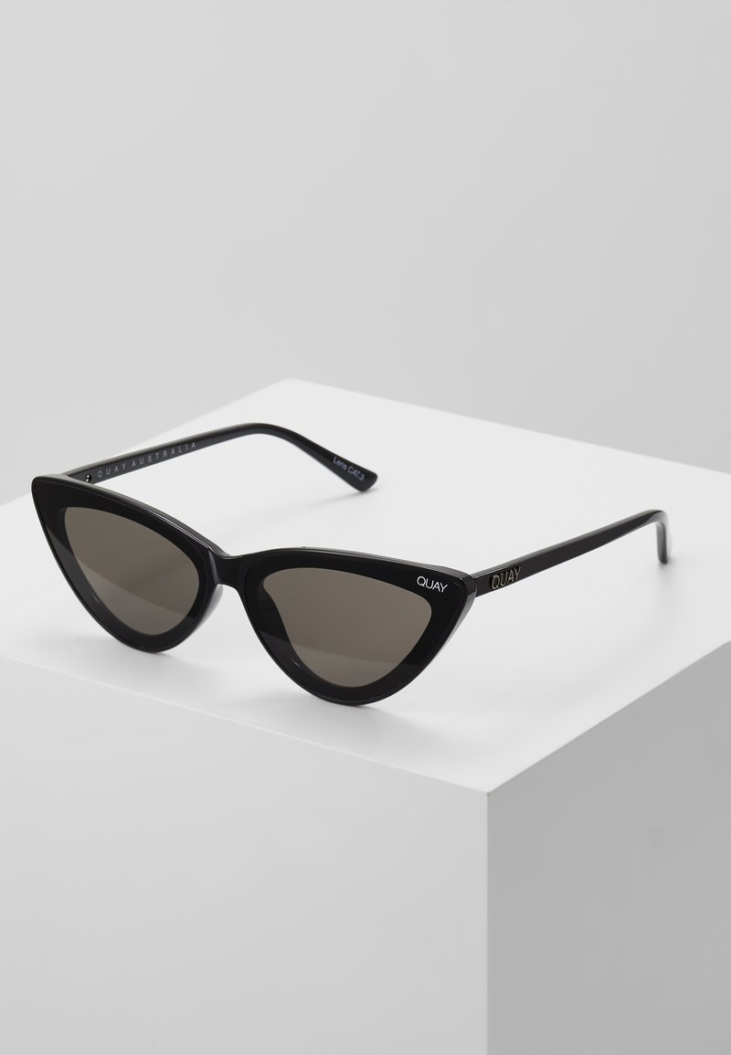 QUAY AUSTRALIA - FLEX LIZZO - Sunglasses - black/smoke