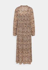 Moss Copenhagen - MERILA RIKKELIE DRESS  - Maxi dress - black - 1