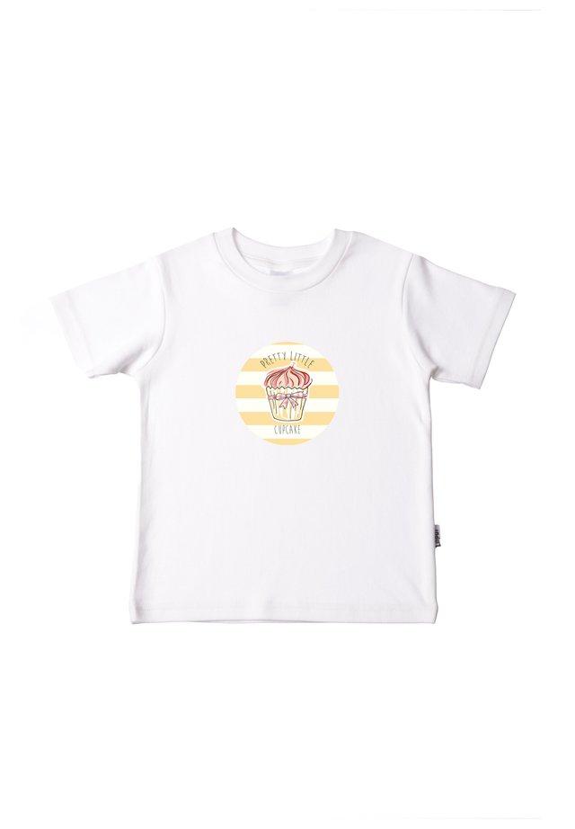 MIT TOLLEM FRONT - Print T-shirt - weiß