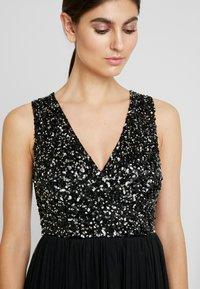 Maya Deluxe - SLEEVELESS WRAP FRONT MAXI DRESS - Společenské šaty - black - 5