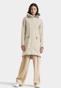 Didriksons - ILMA WNS - Winter coat - light beige - 1