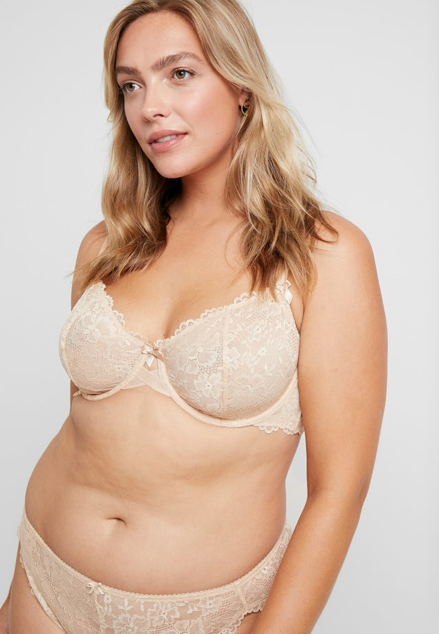 UNLINED BRA - Bügel BH - buff