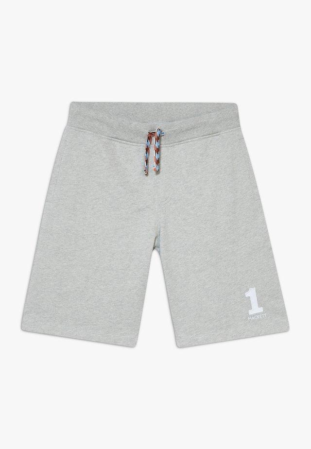 NUMBER - Teplákové kalhoty - grey marl