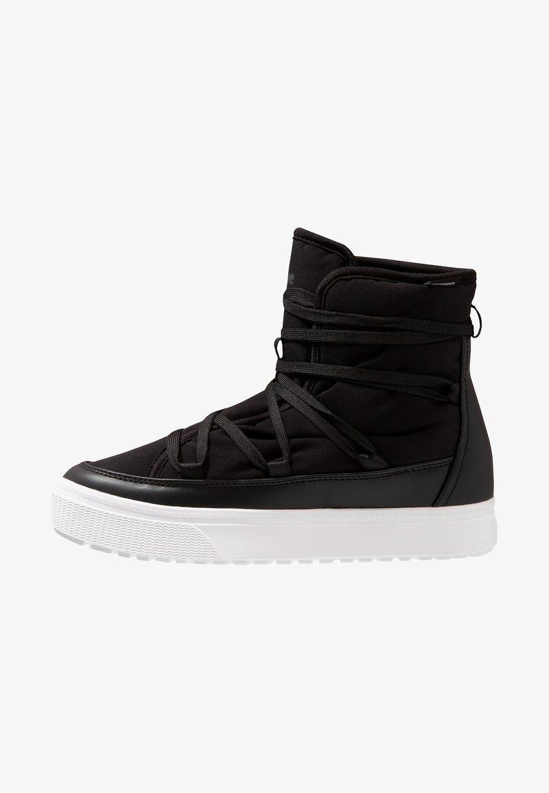 Native - CHAMONIX - Lace-up ankle boots - jiffy black/shell white